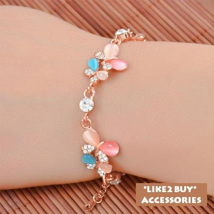 Like2Buy Accessories Butterfly Twins Bracelet