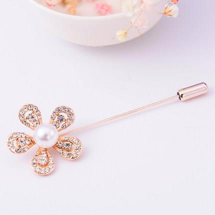 Like2Buy Accessories Sparkling Flower Brooch