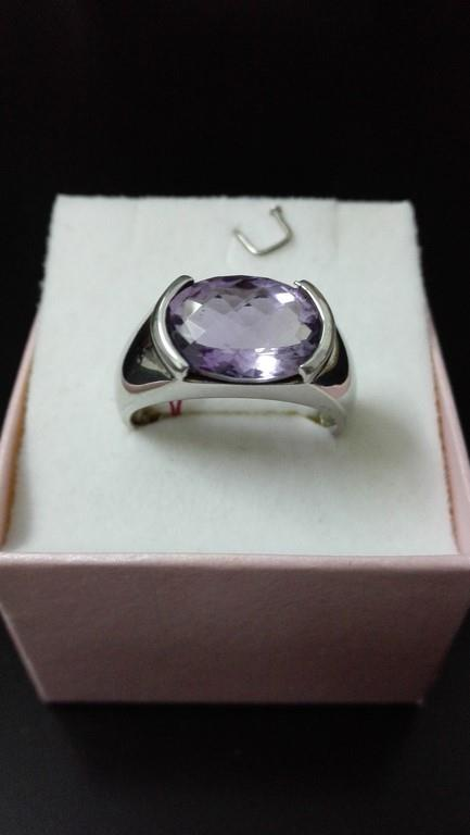 Limited Amethyst Silver Ring(FREE SHIPPING)-only size 25