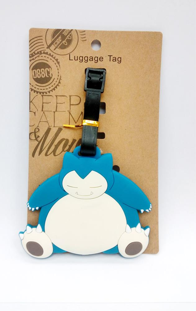 LIMITED EDITION POKEMON SNORLAX LUGGAGE TAG