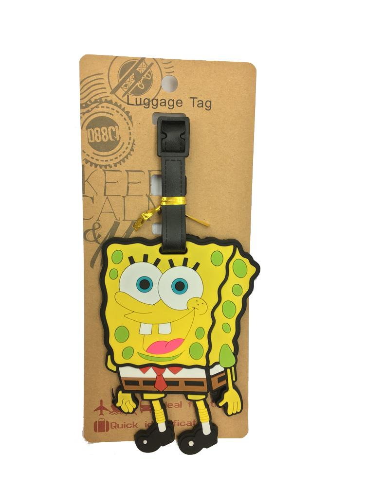 LIMITED EDITION SPONGEBOB LUGGAGE TAG