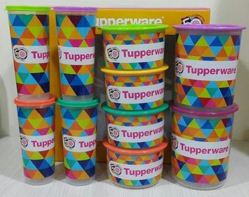 Limited Edition Tupperware 50th Anniversary Series