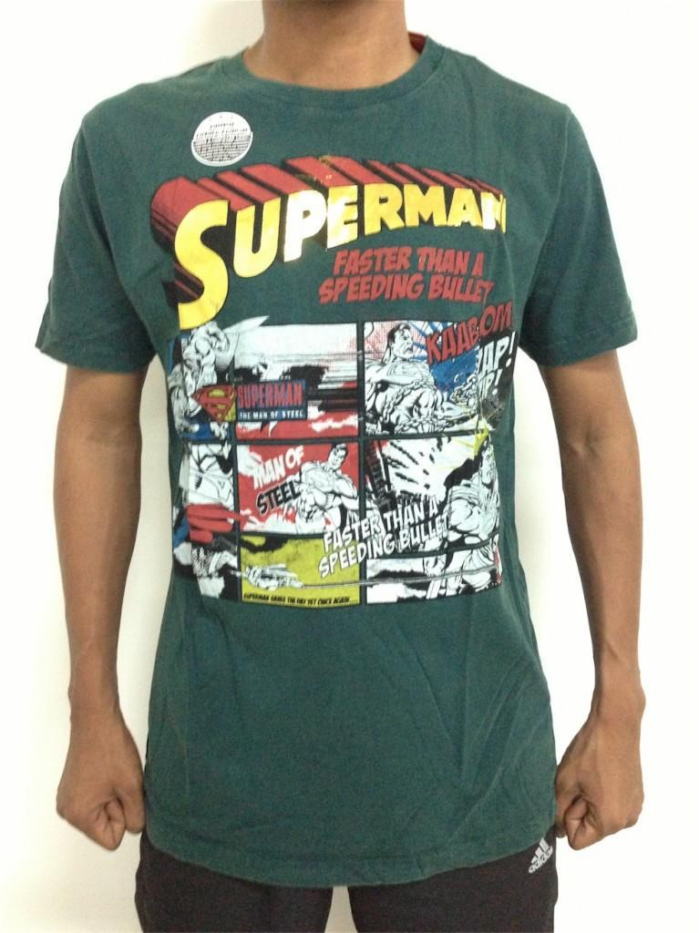 limited edition vintage tshirt superman comic selangor end time 4. Black Bedroom Furniture Sets. Home Design Ideas
