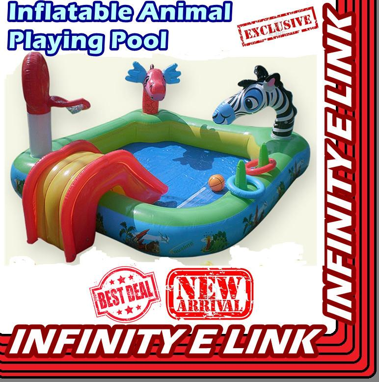 Limited!! Inflatable Animal Playing Pool