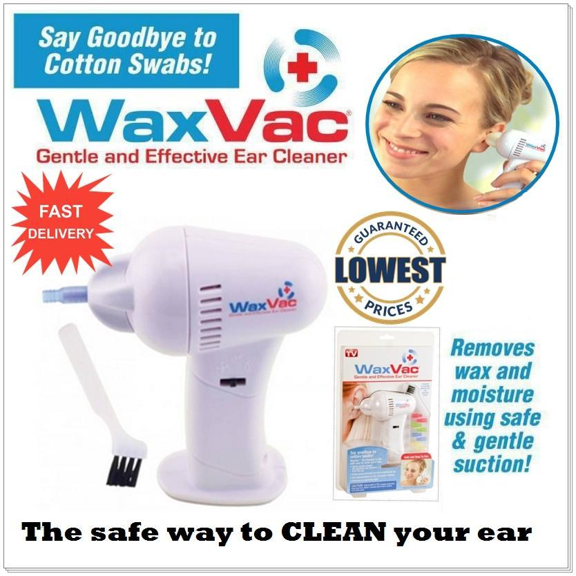 LIMITED PROMOTION - WaxVac Electronic Ear Wax Vac Cleaner