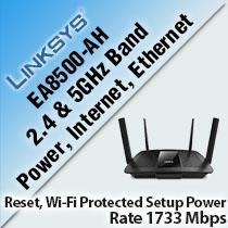 LINKSYS EA8500-AH MAX-STREAM MU-MIMO SMART WI-FI ROUTER