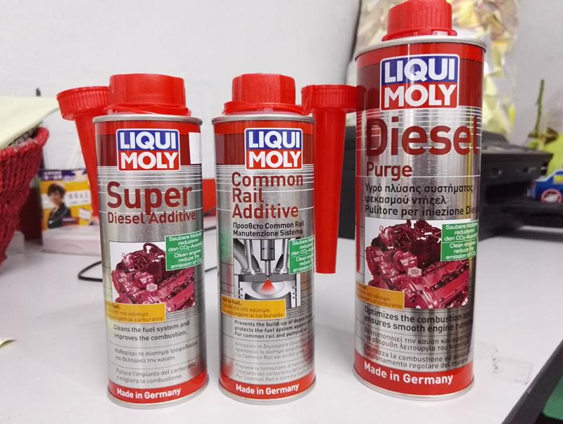 liqui moly diesel purge instructions
