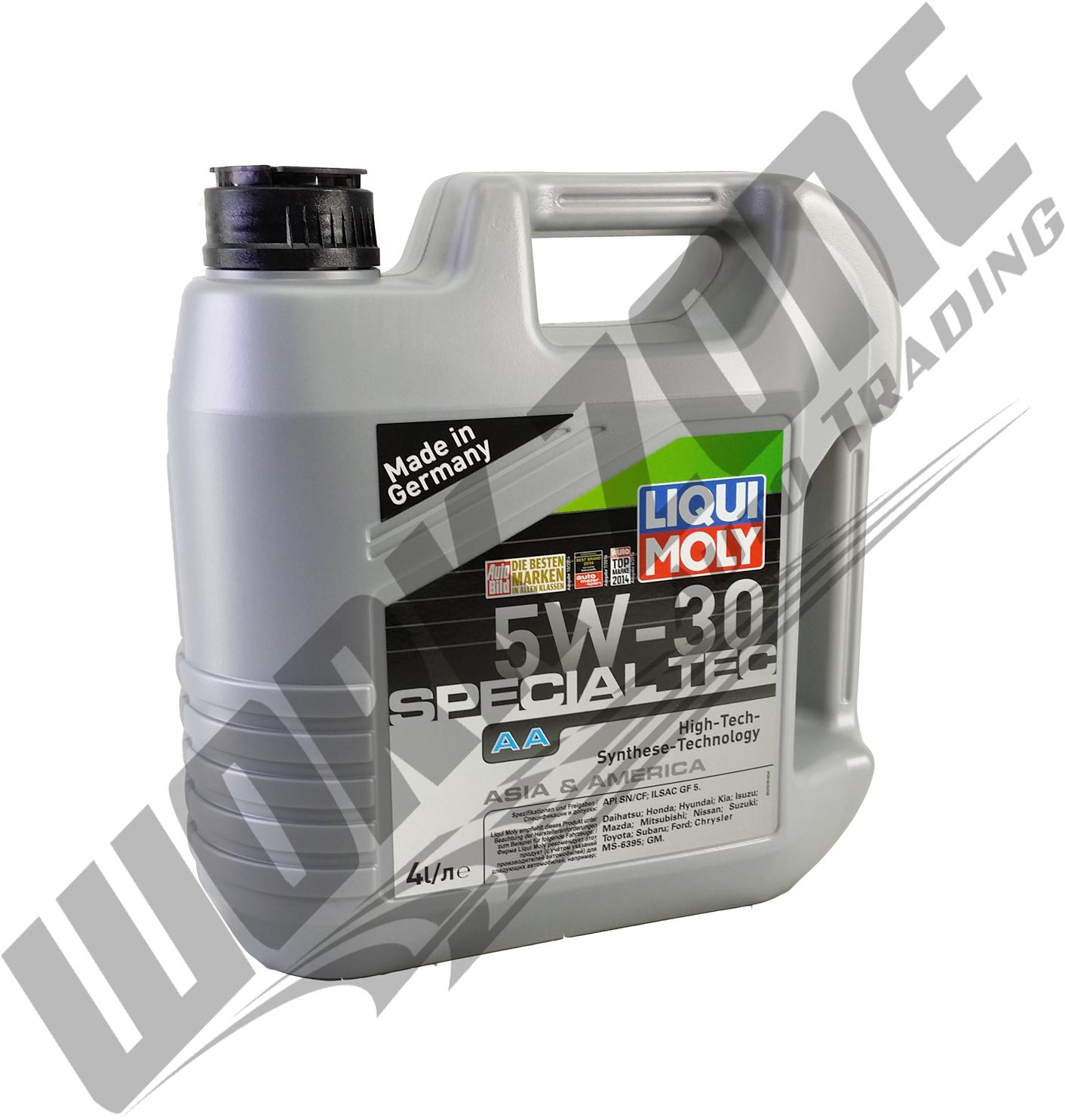 liqui moly leichtlauf special aa 5w30 engine oil 4l. Black Bedroom Furniture Sets. Home Design Ideas
