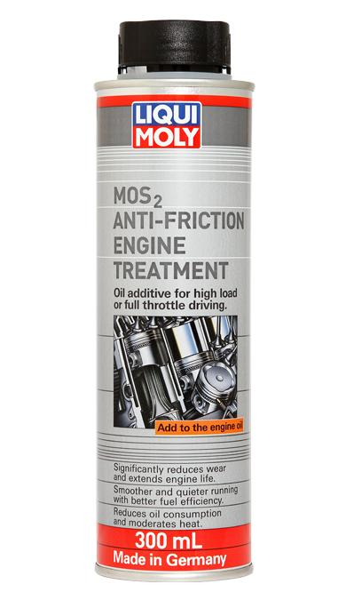NEW LIQUI MOLY MOS2 ANTI-FRICTION ENGINE TREATMENT FOR PROTECTION