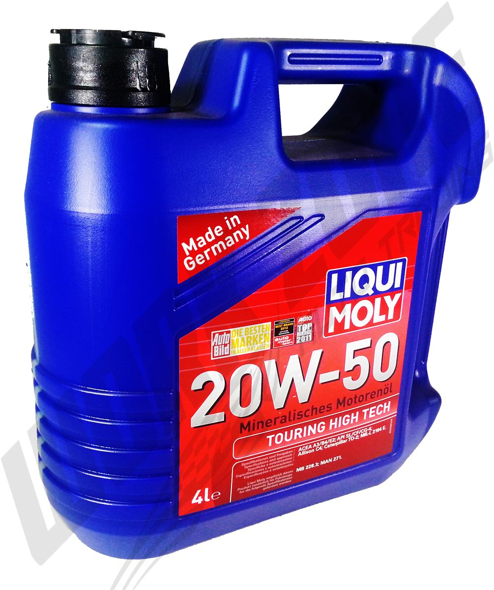 Liqui Moly Tht 20w50 Engine Oil 4l