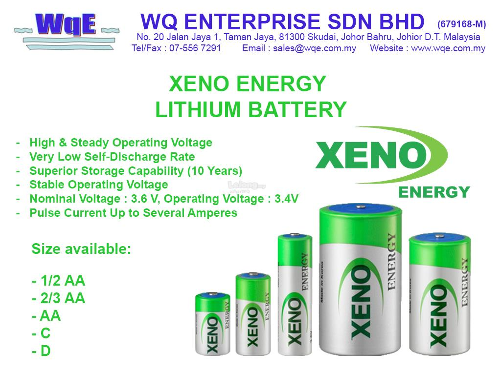 Lithium Battery Products - XENO Energy