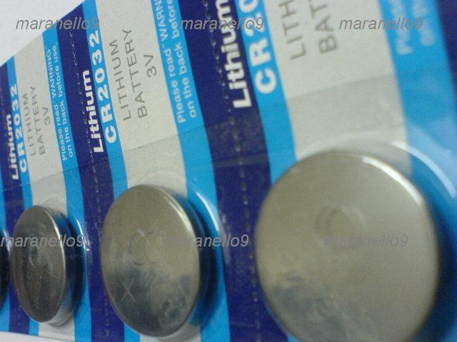 Lithium CR2032 3v Button Cell Batteries x 5 Units Warehouse Sales! bid