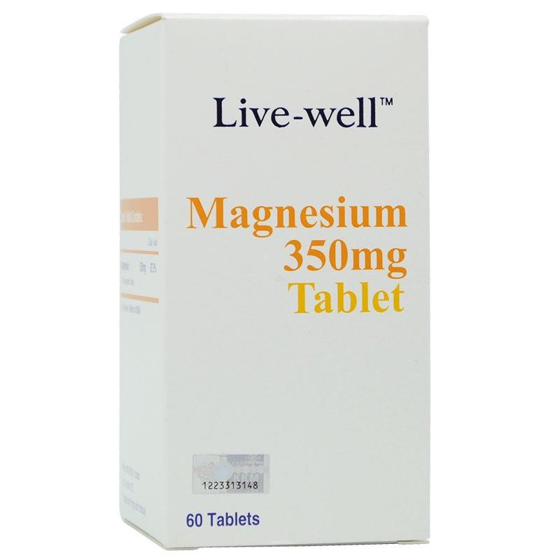 Live-well Magnesium 60s