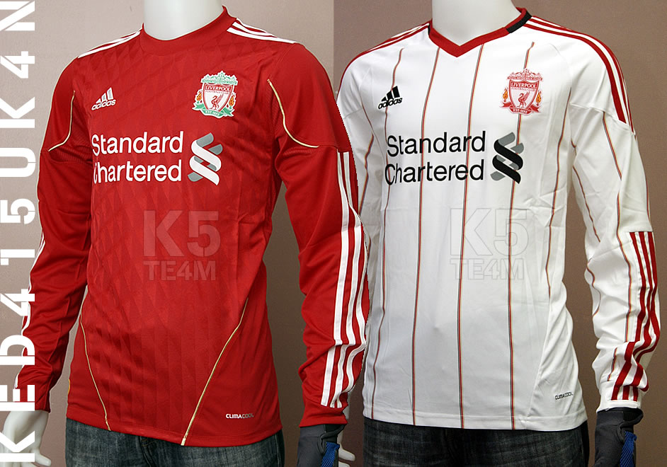 best service 1dabe 98140 Worldwide Sports Soccer Jersey: Liverpool FC Home and Away ...