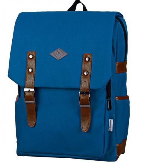 Living Gears English Backpack Blue Wizard