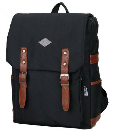 Living Gears English Backpack Melbourne Black