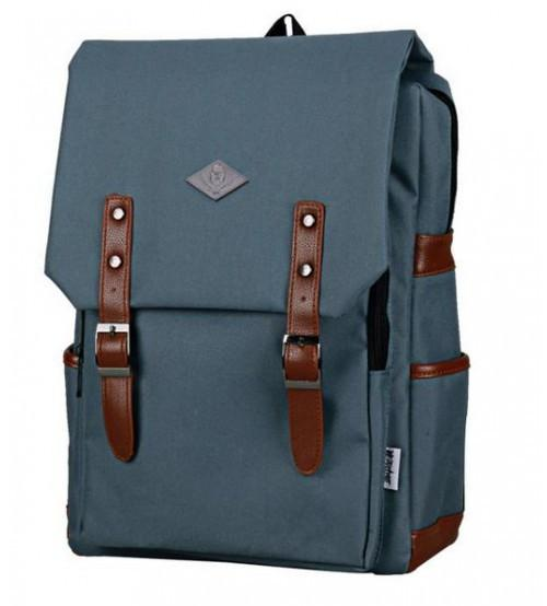Living Gears English Backpack Smoke Grey