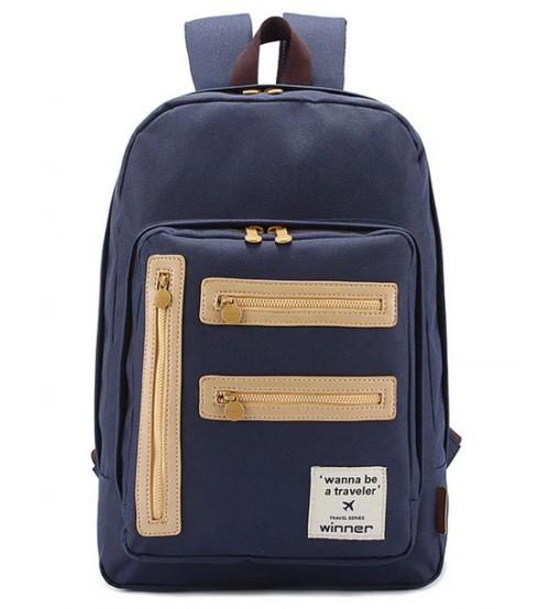 Living Gears Victorian Legacy Backpack Blue