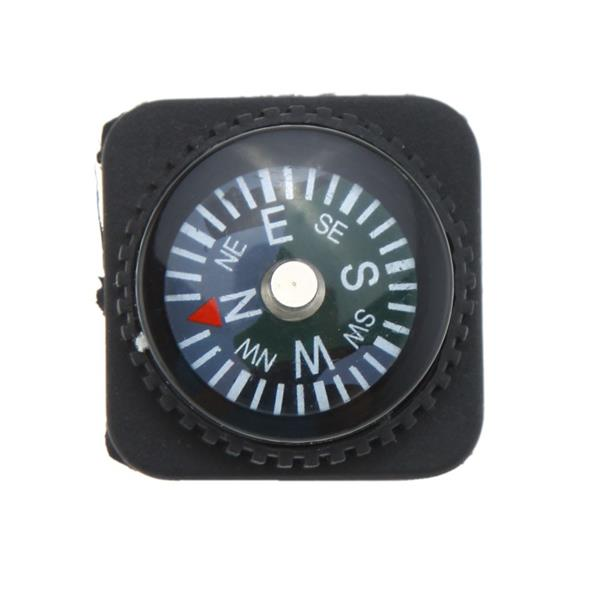 LIXADA 10pcs Mini Oil Filled Slip-on Compass Set for Watchband