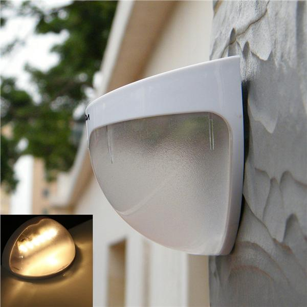 LIXADA Solar Power Wireless LED Lamp Wall Mount Light Sensor