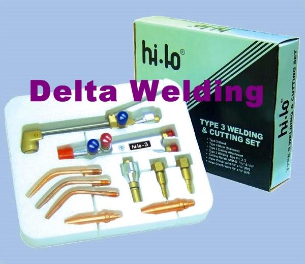 Hi-Lo Malaysia Welding Torch Kit - Brazing & Weld Set