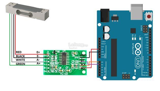 Load Cell Amplifier HX711 Module