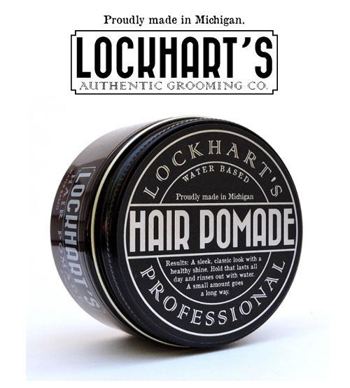 Lockhart's Water Based Hair Pomade For Medium And Firm Hold (104.9g)