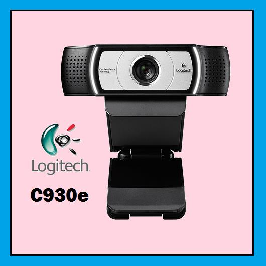 LOGITECH C930E 1080p HD Wide Angle View Webcam