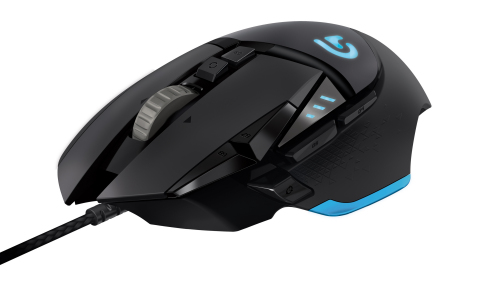LOGITECH G502 PROTEUS CORE WIRED LASER GAMING MOUSE (910-004077) BLK