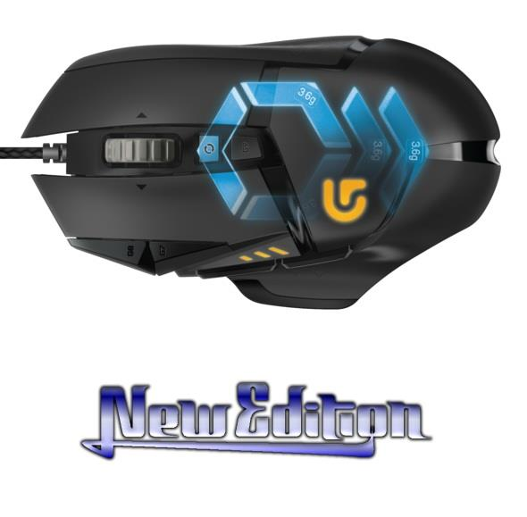 Logitech G502 Proteus Spectrum RGB Tunable Gaming Mouse (NEW EDITION)