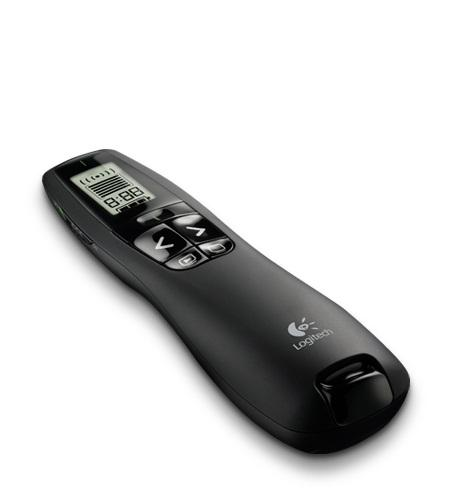 LOGITECH GREEN LASER POINTER 2.4GHZ CORDLESS PRESENTER (R800)