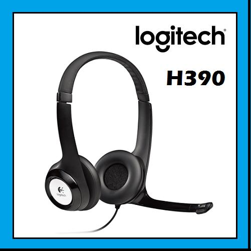 LOGITECH H390 Comfortable Stereo USB Headset with mic