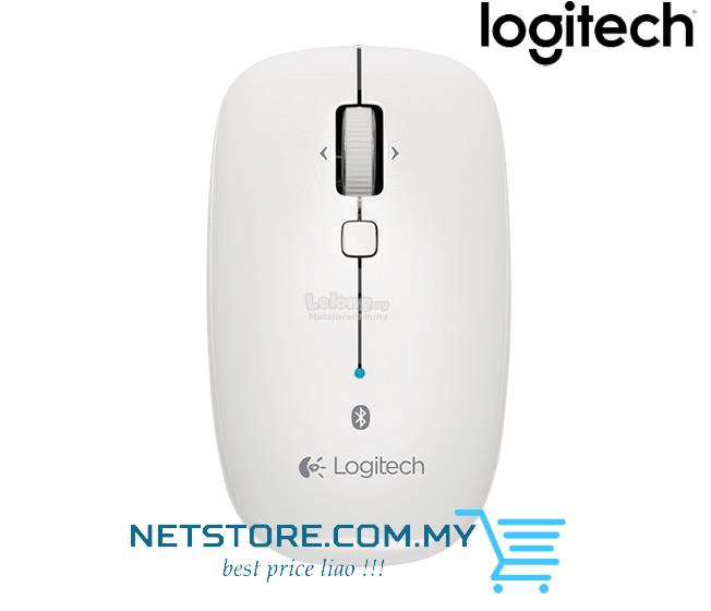 LOGITECH Mouse Bluetooth M557 (910-003961) Slim, ambidextrous WHITE