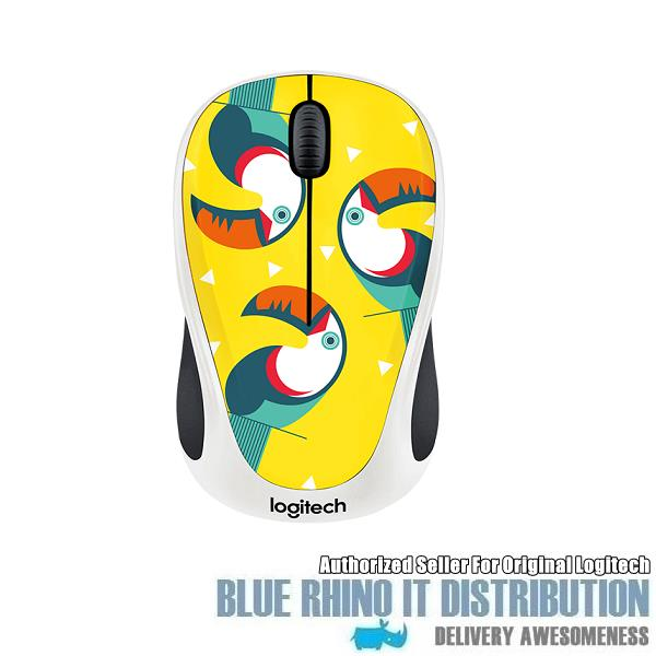 Logitech Party Collection Wireless Mouse M238 (Toucan)