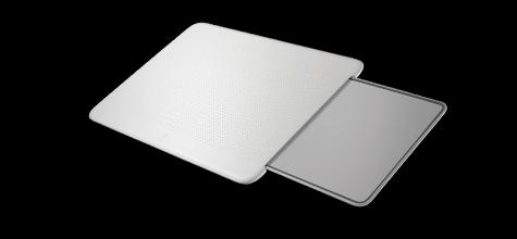 Logitech Portable Lapdesk N315, Stay-cool design,Retractable mouse pad