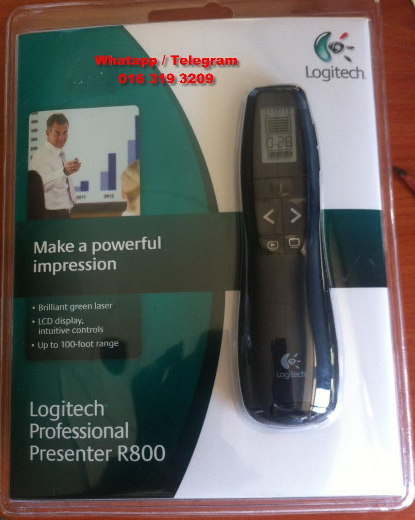 Logitech Professional USB Presenter R800 (LIMITED OFFER) - (NO GST)