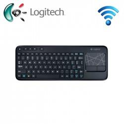 Logitech® Touch Wireless Keyboard (K400R) Black