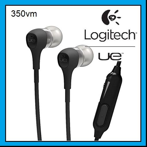 LOGITECH UE 350vm Noise Isolating In-Ear Stereo Earphone 985-000370