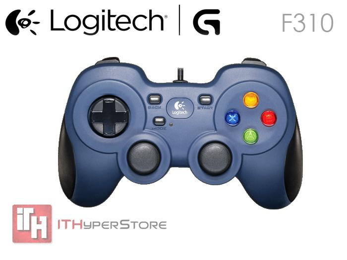 how to use a logitech controller on steam