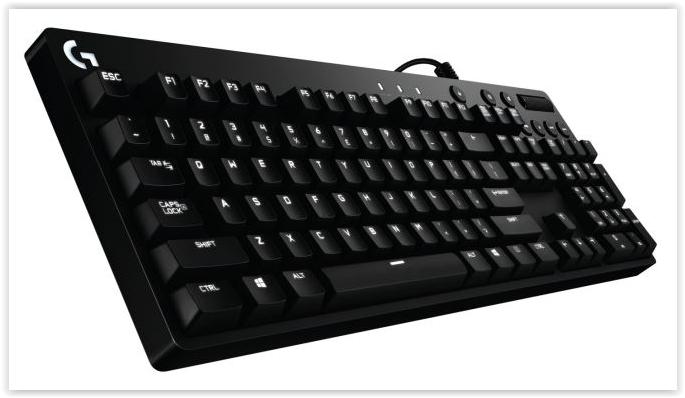 LOGITECH WIRED GAMING MECHANICAL KEYBOARD G610 ORION BROWN 920-007871