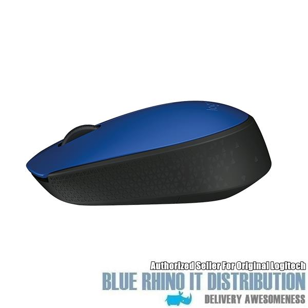 Logitech Wireless Mouse M171 (Blue)