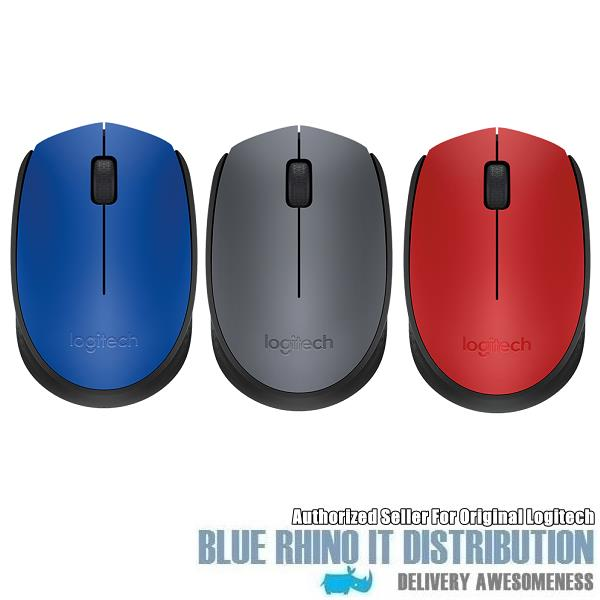 Logitech Wireless Mouse M171 (Red)