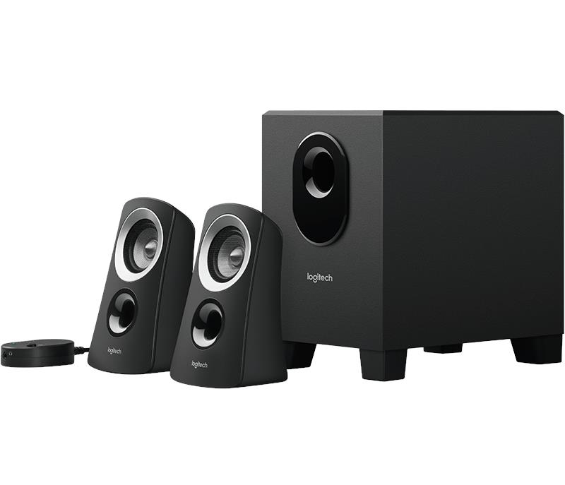 Logitech Z313-EU 2.1 Speaker System with Subwoofer 980-000413