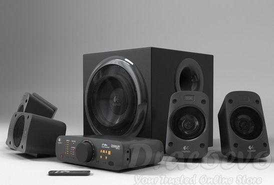 how to connect logitech 5.1 speakers to pc