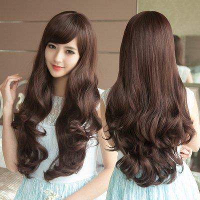 long curve hair wig td11/rambut palsu/ ready stock