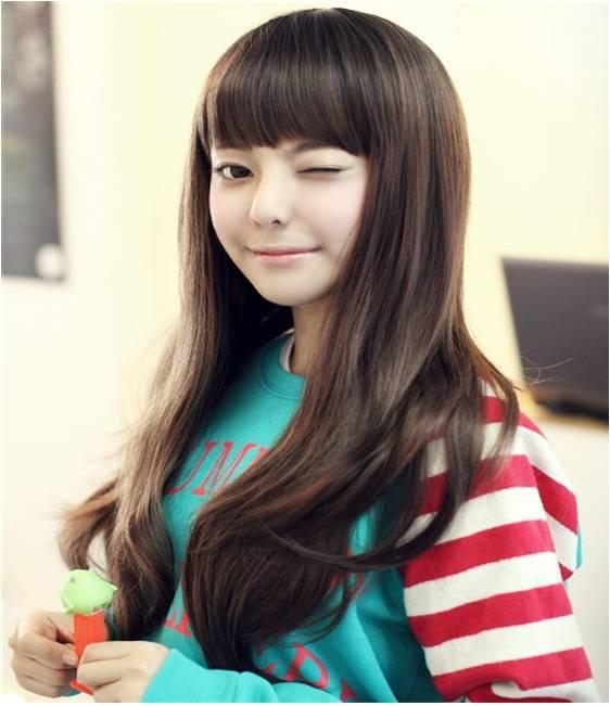 long curve wig 113/ready stock/rambut palsu