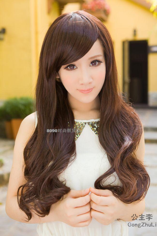 long curve wig 116/ready stock/rambut palsu