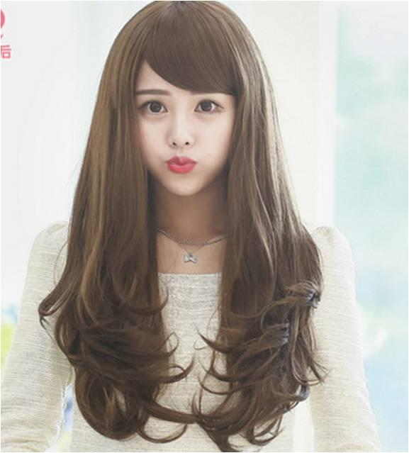 long curve wig/DF9/ rambut palsu/ ready stock