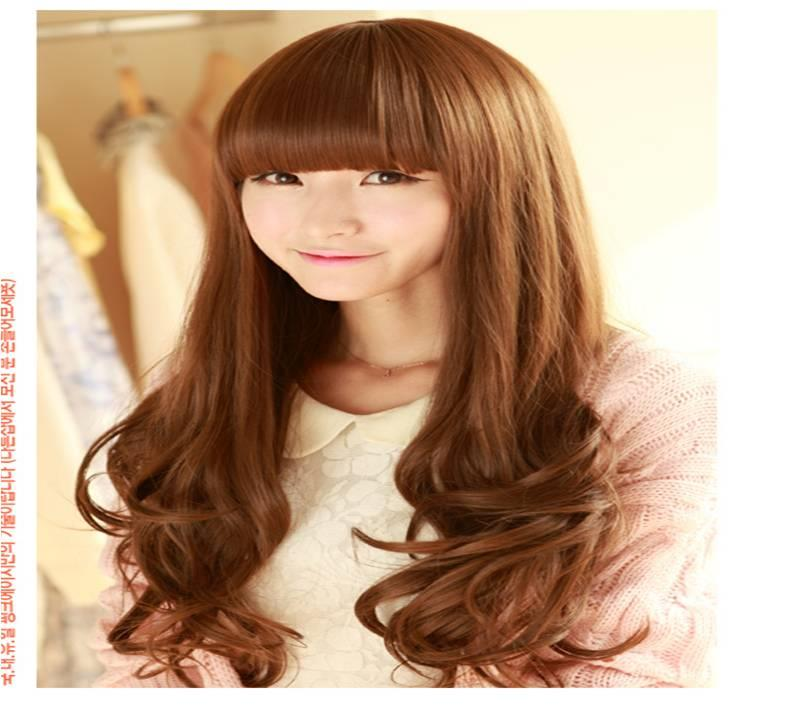 Long curve wig* Nov7 ready stock-rambut palsu