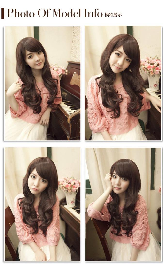 Long curve wig*ready stock 14-rambut palsu